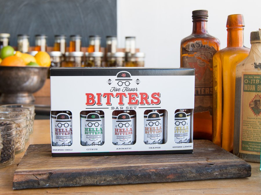 6. Five Flavor Bitters Bar Set from Hella Cocktail Co.