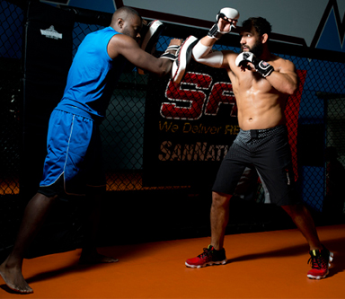 Five Minutes with Johny Hendricks