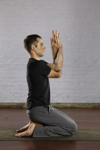 3. Hero Pose (Virasana)