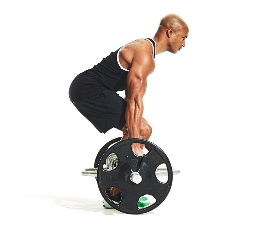 1. Hex-bar deadlift