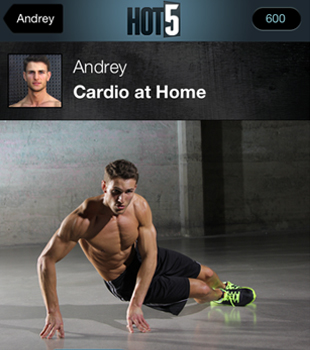 Hot5 Fitness: a 5-Minute Workout on Your Phone