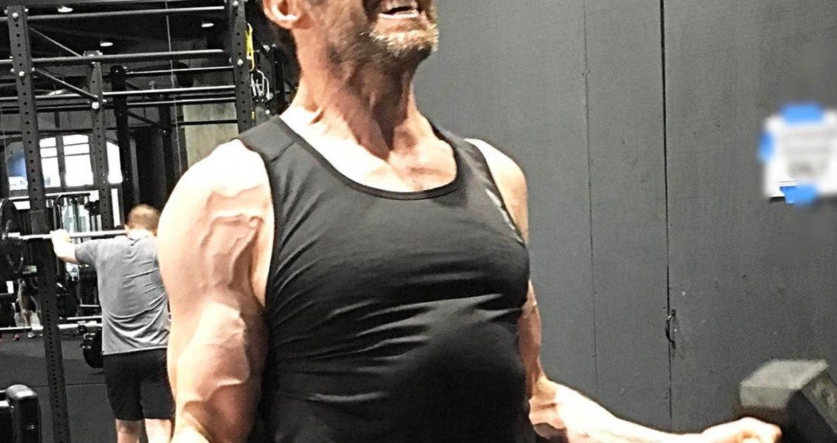 Hugh Jackman Is Getting Seriously Ripped (Again) for His ...