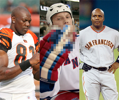 """10 Selfish Athletes Who Put the """"I"""" in """"Teiam"""""""