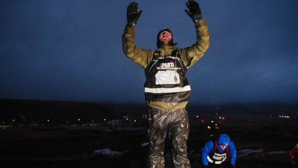 Men's Fitness executive editor Zack Zeigler during Iceland Ultra