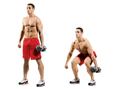 Hold A Dumbbell In One Hand At Your Side And Squat As Low You Can If Were Putting Down Suitcase