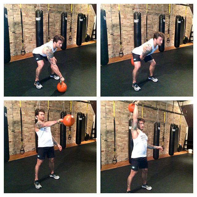 New Kettlebell Exercises For Your Workout Routine: One-Off Workout: 5-Move TRX And Kettlebell Fat Burn Combo