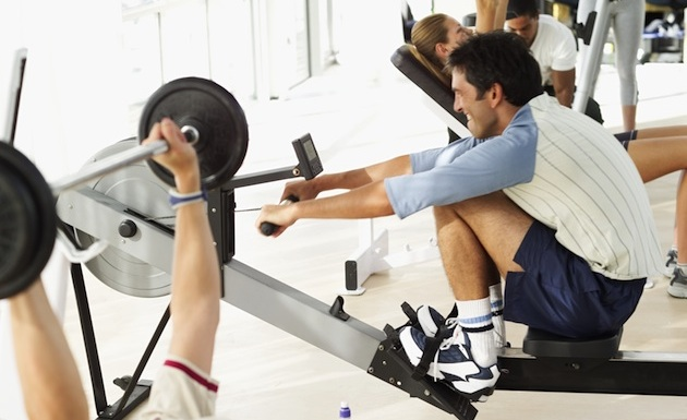 Rowing Workout Stations