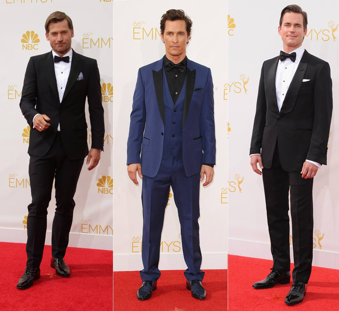 The 10 best dressed at the Emmy awards