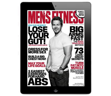 Get the Jan/Feb Issue of Men's Fitness on iPad Today