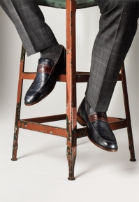 2. Brown and black dress shoes