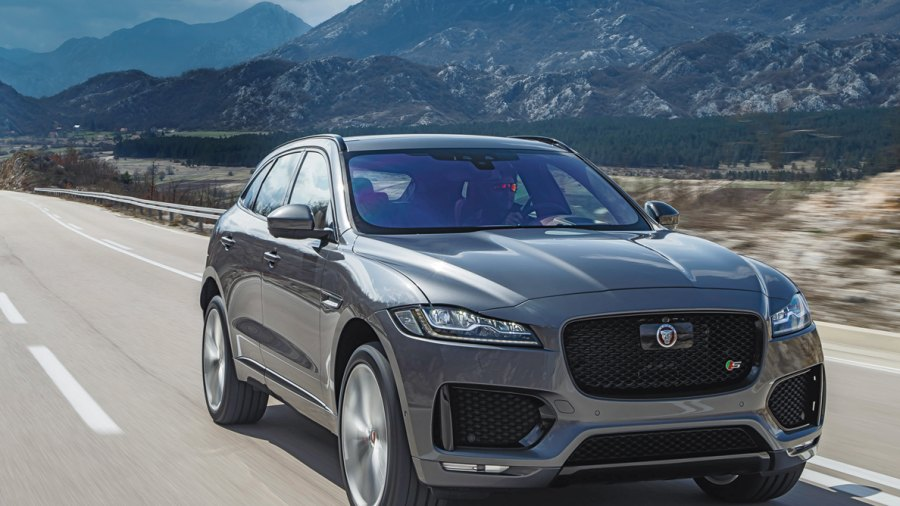 Jaguar Enters the Luxury SUV Battle With the Rugged yet Sophisticated F-Pace