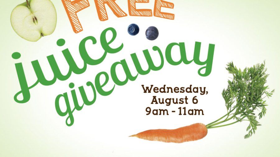 JAMBA JUICE HOSTS FREE JUICE GIVEAWAY ON AUGUST 6 FROM 9-11 AM