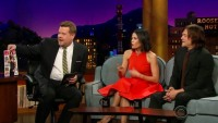 Norman Reedus and Jenna Dewan Tatum appear on 'The Late Late Show' with James Corden.