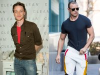 James McAvoy shows off shredded body after Glass