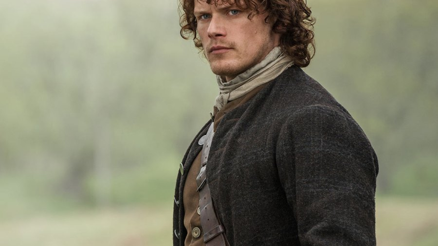 Outlander Star Sam Heughan Is Ready For Action