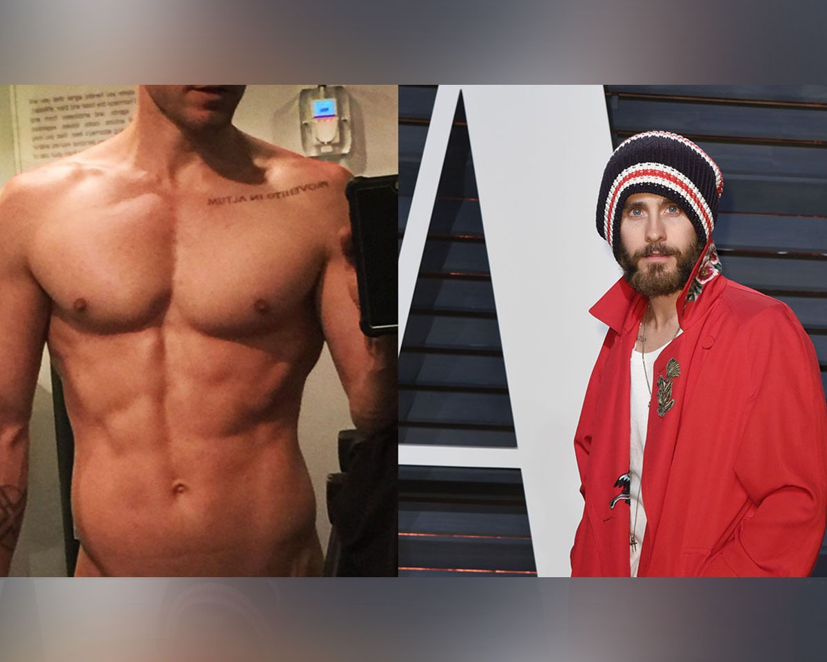 Jared Leto Shared a Selfie of His Abs, and They Are Pretty Damn Impressive