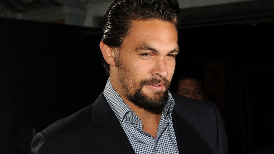 Jason Momoa at Game of Thrones party