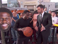 Kevin Hart and Jimmy Kimmel