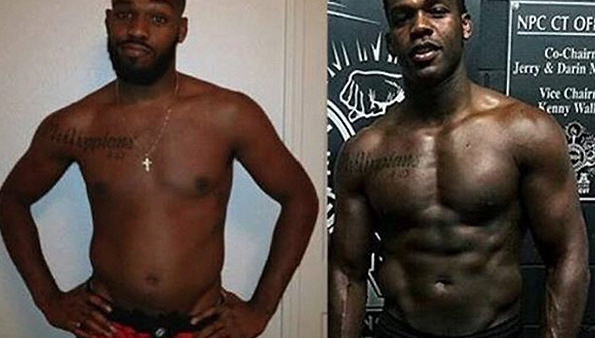 "Jon ""Bones"" Jones Reveals His Insane Body Transformation After Powerlifting for Only 7 Months"