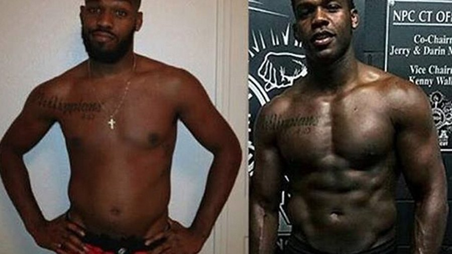 """Jon """"Bones"""" Jones Reveals His Insane Body Transformation After Powerlifting for Only 7 Months"""