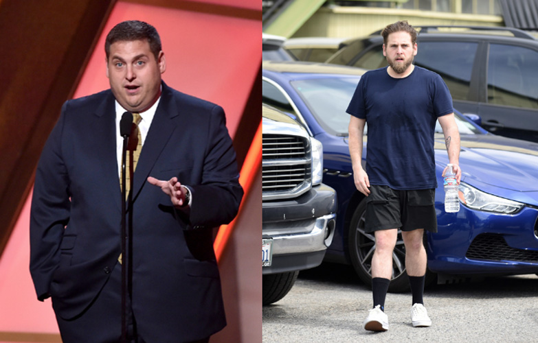 Jonah Hill shows off weight loss