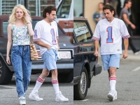 Jonah Hill Rocks Slimmed Down Figure and 80s Hairstyle on 'Maniac' Set