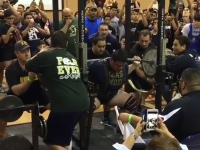 18-year-old high school student squats 1,005 pounds equipped