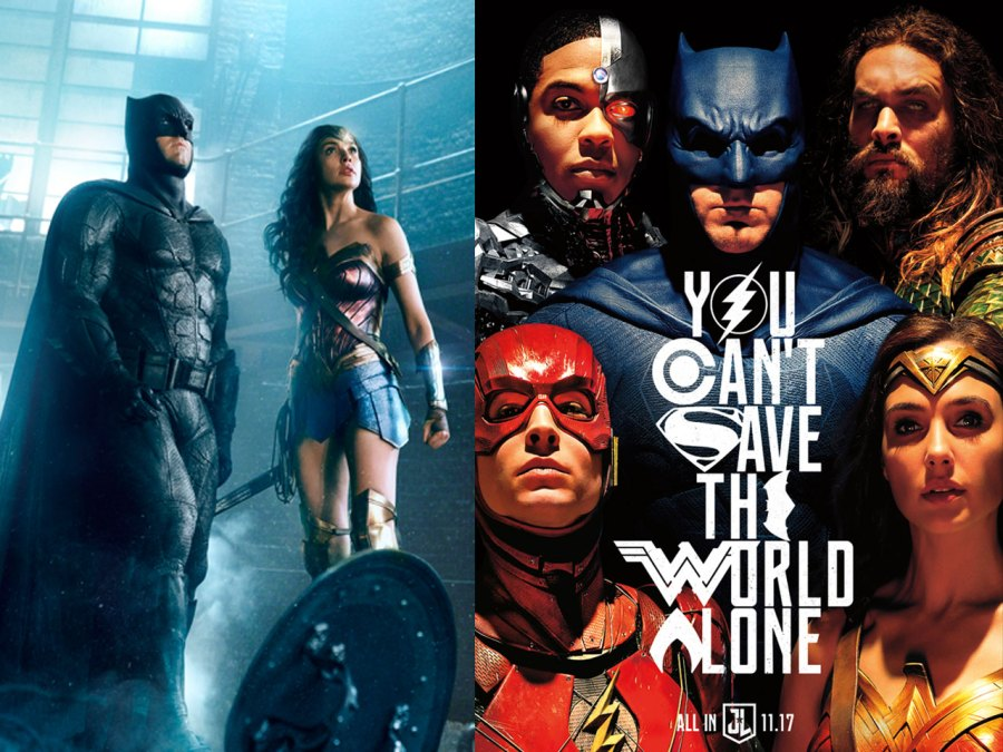 Batman, The Flash and Wonder Woman in Justice League