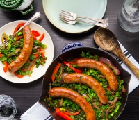 How to Cook This Kale, Sausage, and Pepper Skillet in 30-Minutes