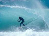 Kelly Slater Surfing Pipeline