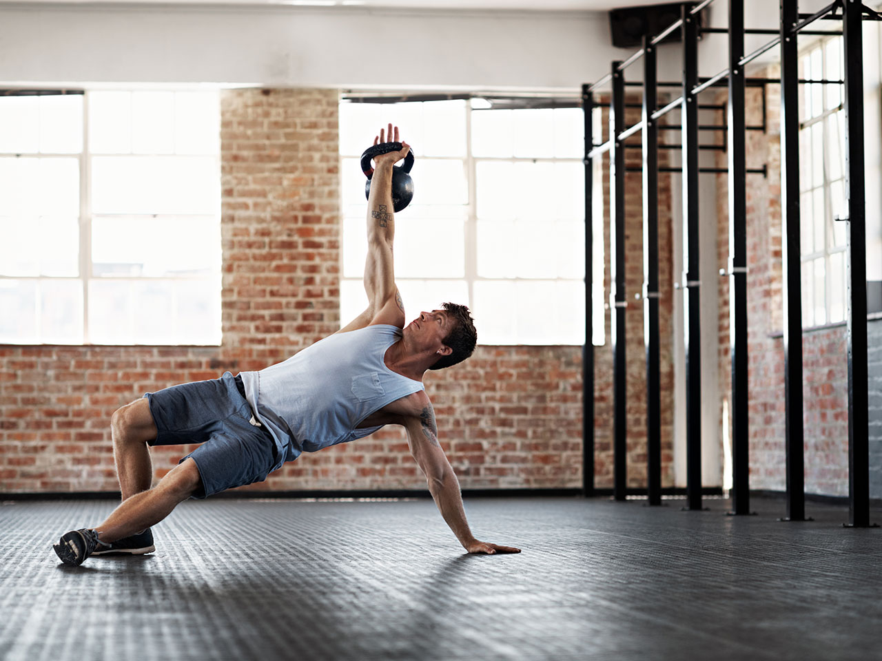 Circuito Kettlebell : The best total body single kettlebell workout