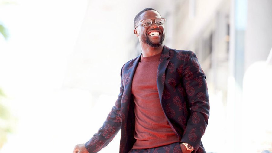 Kevin Hart Honored Hollywood Walk of Fame