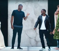 Draymond Green and Kevin Hart star in a new Foot Locker ad.