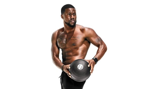 Kevin Hart shows off his six-pack in Men's Fitness shoot