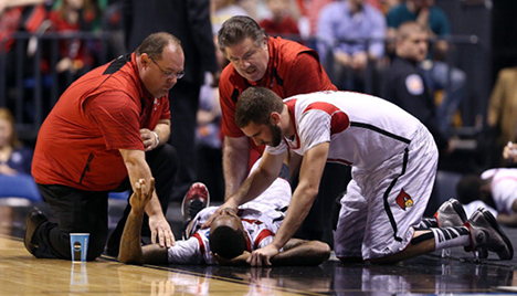 The Decade's Most Cringe-Worthy Basketball Injuries - Men's