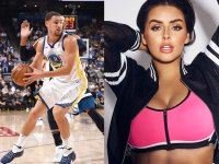Klay Thompson and Abigail Ratchford