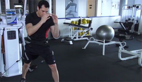 Fitness on the Fly: Powerful Knee Strikes
