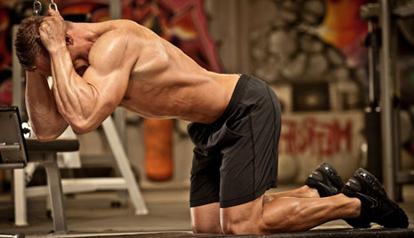 Ab Exercise to Know: Kneeling Cable Crunch