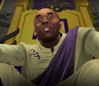 """Kobe Bryant sits on his throne in the fifth episode of """"Game of Zones"""""""