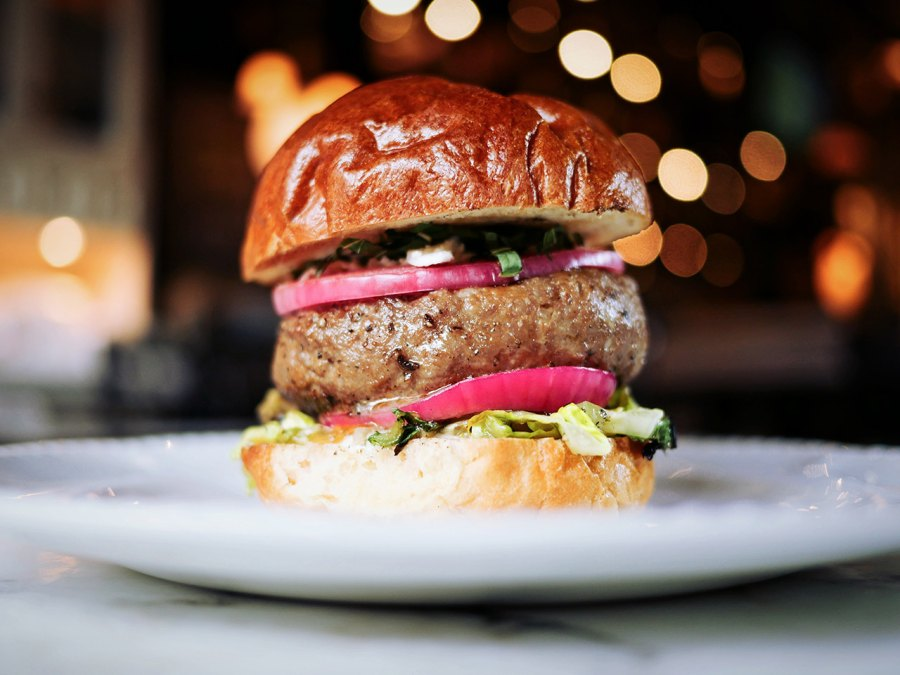 Middle Easter Lamb Burger