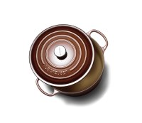 Le Creuset 5 1/2 qt. Round French Oven