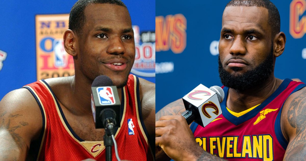 Lebron James Jokes About Thinning Hairline And Hair Loss