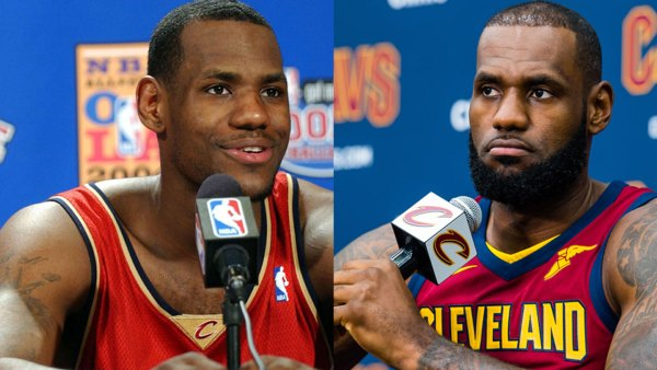 LeBron James of the Cleveland Cavaliers