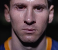 """Lionel Messi in Gatorade's commercial """"Don't Go Down."""""""