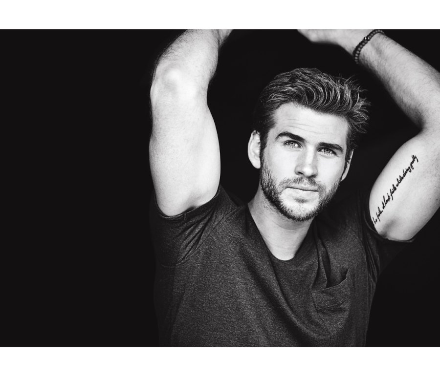 How to Get Liam Hemsworth's Laid-back Look