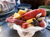 Lobster with Clams