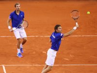 Nicolas Mahut for France in Davis Cup