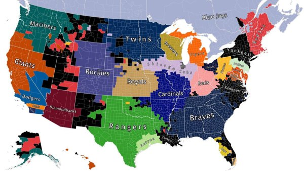 The Most 'Likeable' MLB Teams