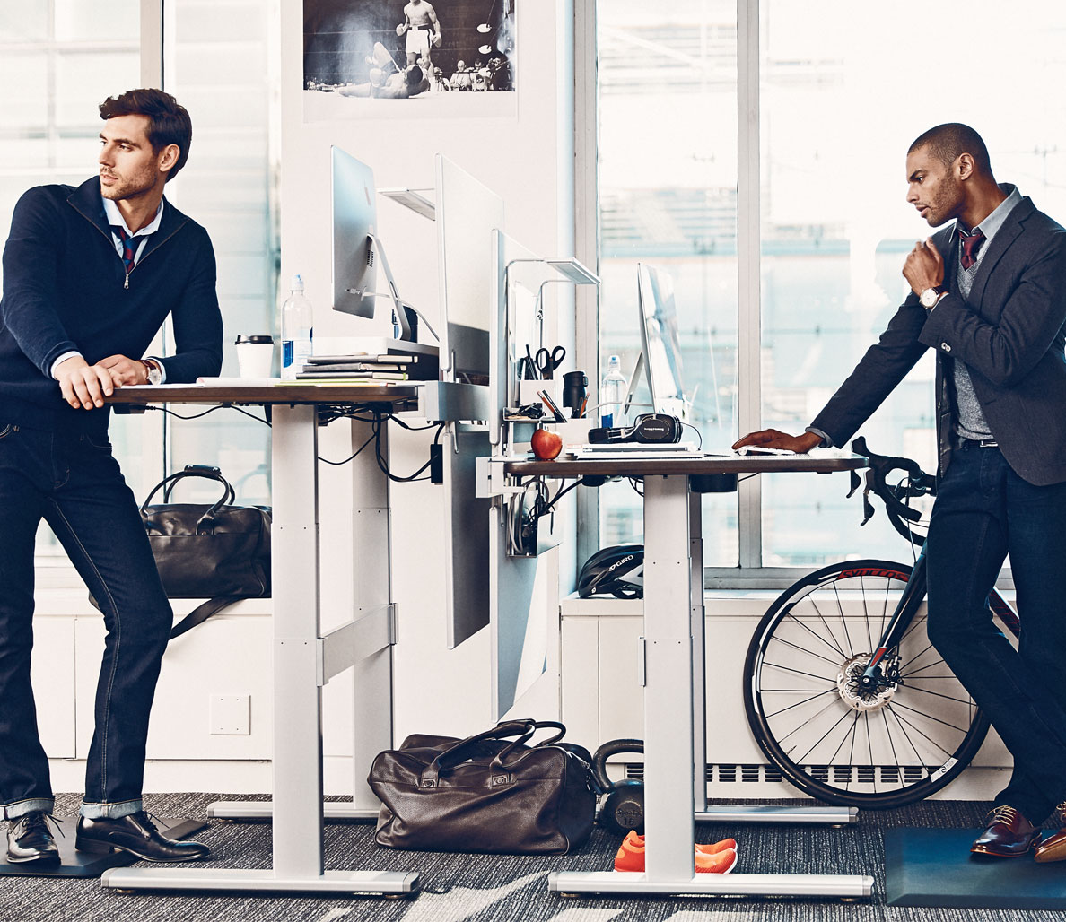 Get Fit @ Work: How the Standing Desk Can Improve Your Health