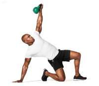 Kettlebell and Body-Weight Combos for Rapid Weight-Loss